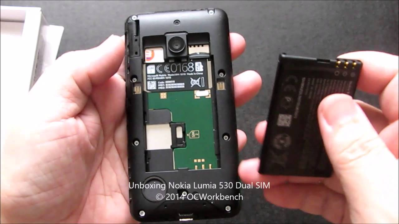 Unboxing the nokia lumia 530 dual sim smartphone review