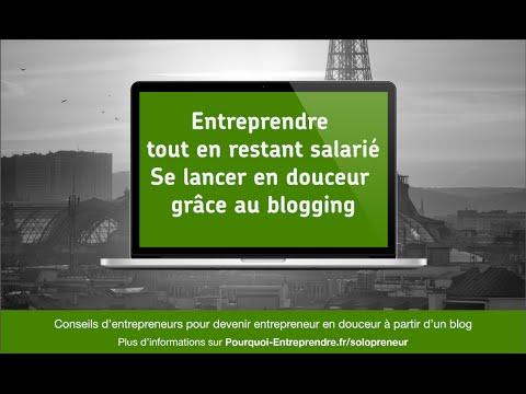 Devenir entrepreneur en gardant son emploi salarié grace au blogging