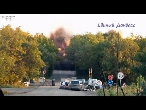 Rebels kill many troops in Ukraine border post attack