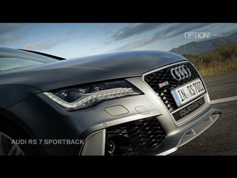 Audi RS 7 Sportback 2014 OFFICIAL [HD] (Option Auto News)