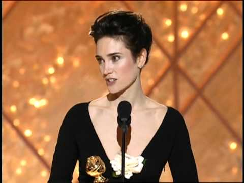 Jennifer Connelly Wins Best Supporting Actress Motion Picture - Golden Globes 2002