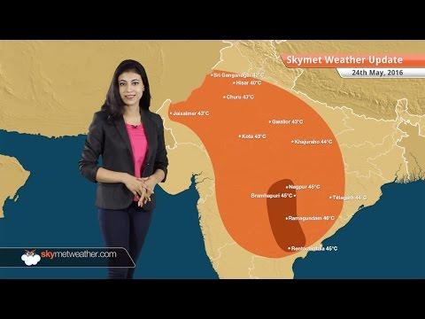 Weather Forecast for May 24: Rain in Delhi, heatwave in Telangana
