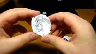 How To Fold Origami White Rose By George Pobedinsky