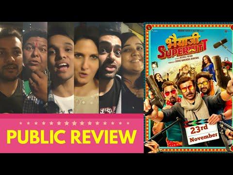 Bhaiaji Superhit Movie PUBLIC REVIEW | Sunny Deol, Priety Zinta, Arshad Warsi, Amisha Patel