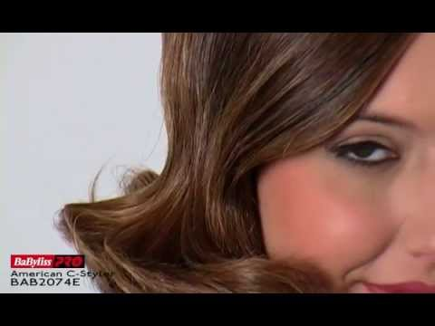 BaByliss PRO C Styler How To from i-glamour.com