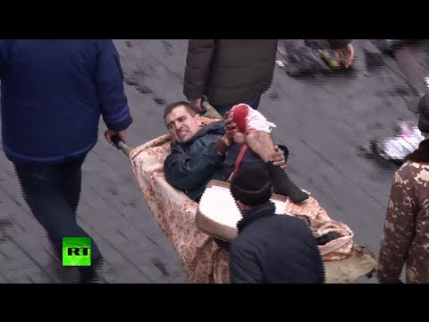 Ukraine graphic video: Dozens dead, many injured in brutal Kiev clashes