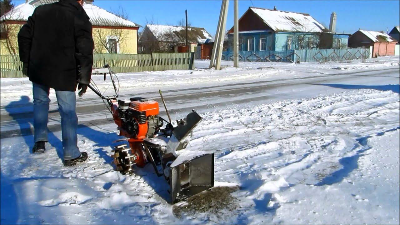 Снегоуборочная машина своими руками: достойная альтернатива 65