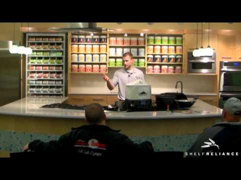 Shelf Reliance: Volcano Stove Training