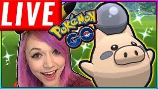 LIVE: LUCKY SHINY HUNT WEEKEND Pokémon GO Stream