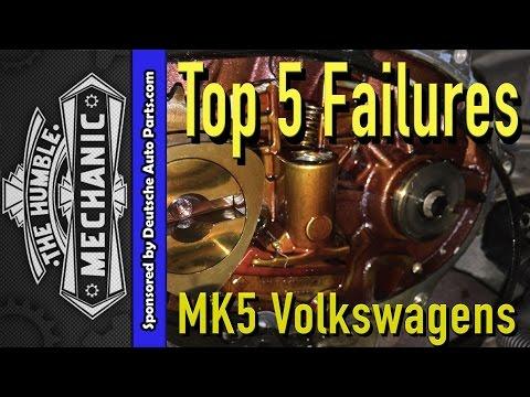 Top 5 Failures of MK5 Volkswagen. (Jetta. Rabbit. GTI. Jetta SportWagen)