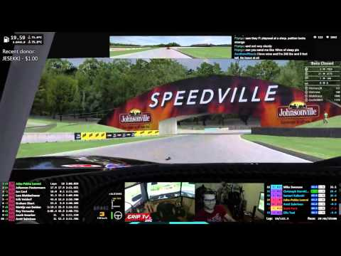 iRacing: World Sport Car Series with Ford GT2 at Road America