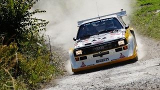 Best of Historic Rally cars - PURE SOUND, FLAMES & DRIFT [HD]