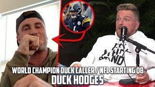 Pat McAfee Hears World Champion Duck Call