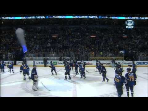 Barret Jackman Game Winning Goal in Game 2 vs Kings (Blues Feed) HD 720P