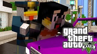 """STEALING FERRARI'S"" Minecraft GTA 5   Grand Theft Auto 5 Mod Ep 22 (GTA 5)"