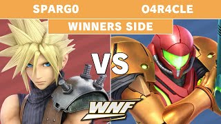 WNF EP5 - Sparg0 (Cloud) vs o4r4cle (Samus) Winners Side - Smash Ultimate