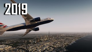 New Flight Simulator 2019 in 4K - P3D 4.3| Extreme Realism
