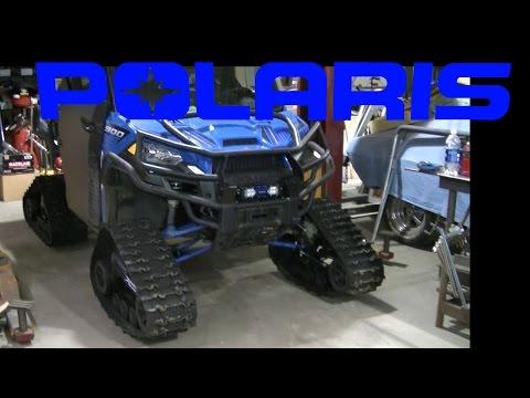 Polaris Ranger 900 Camoplast Tracks Install