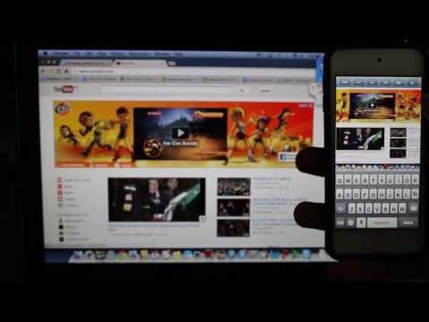 Controla tu PC/Mac desde tu iPhone. iPad y iPod Touch
