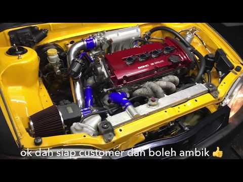 Proton Wira 1.3 upgrade Mivec turbo by Zaki Spec ZL raceworks