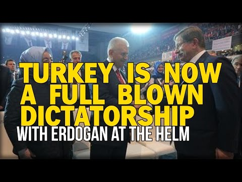IT'S OFFICIAL TURKEY IS NOW A FULL BLOWN DICTATORSHIP WITH ERDOGAN AT THE HELM