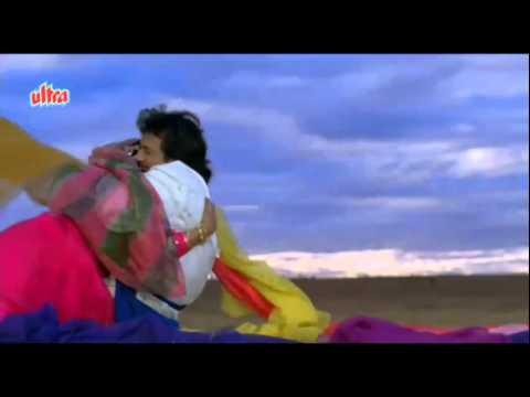 Kaise Kate Din   Govinda, Juhi Chawla, Swarg Song   YouTube