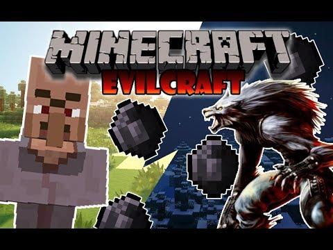 EVILCRAFT(Español)  REVIEW MOD 1.8.8 (pedos.sangre.terror)