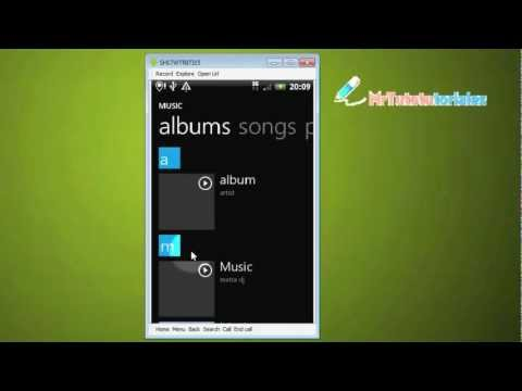 Zplayer: el Reproductor Windows Phone 7 Media Player en tu teléfono Android ( apk Gratis)