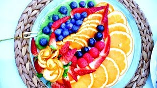 Art In Delicious Fruit Sliced   Decorate Fruit   Fruit & Vegetable Carving Lessons