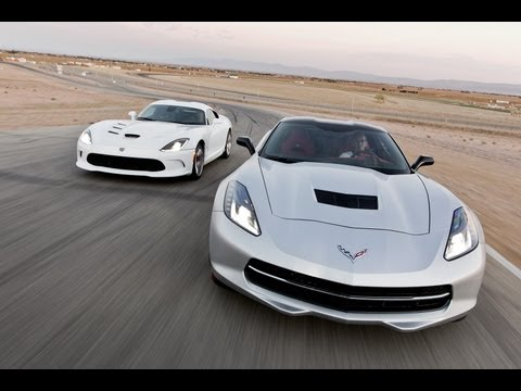 Track Tested: 2014 Chevy Corvette Stingray vs 2013 SRT Viper Coupe -- Edmunds.com