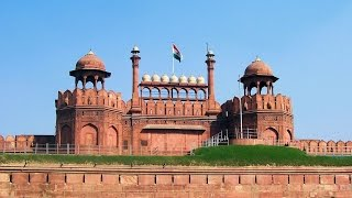 Red Fort Delhi Lahore Gate to Diwan E Khas and Diwan E Aam with Moti Masjid