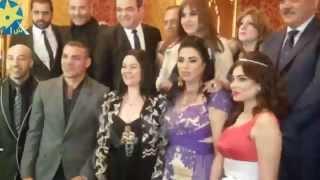 بالفيديو لاعب الكرة عمرو زكي مع نجمات فيلم قيصرون