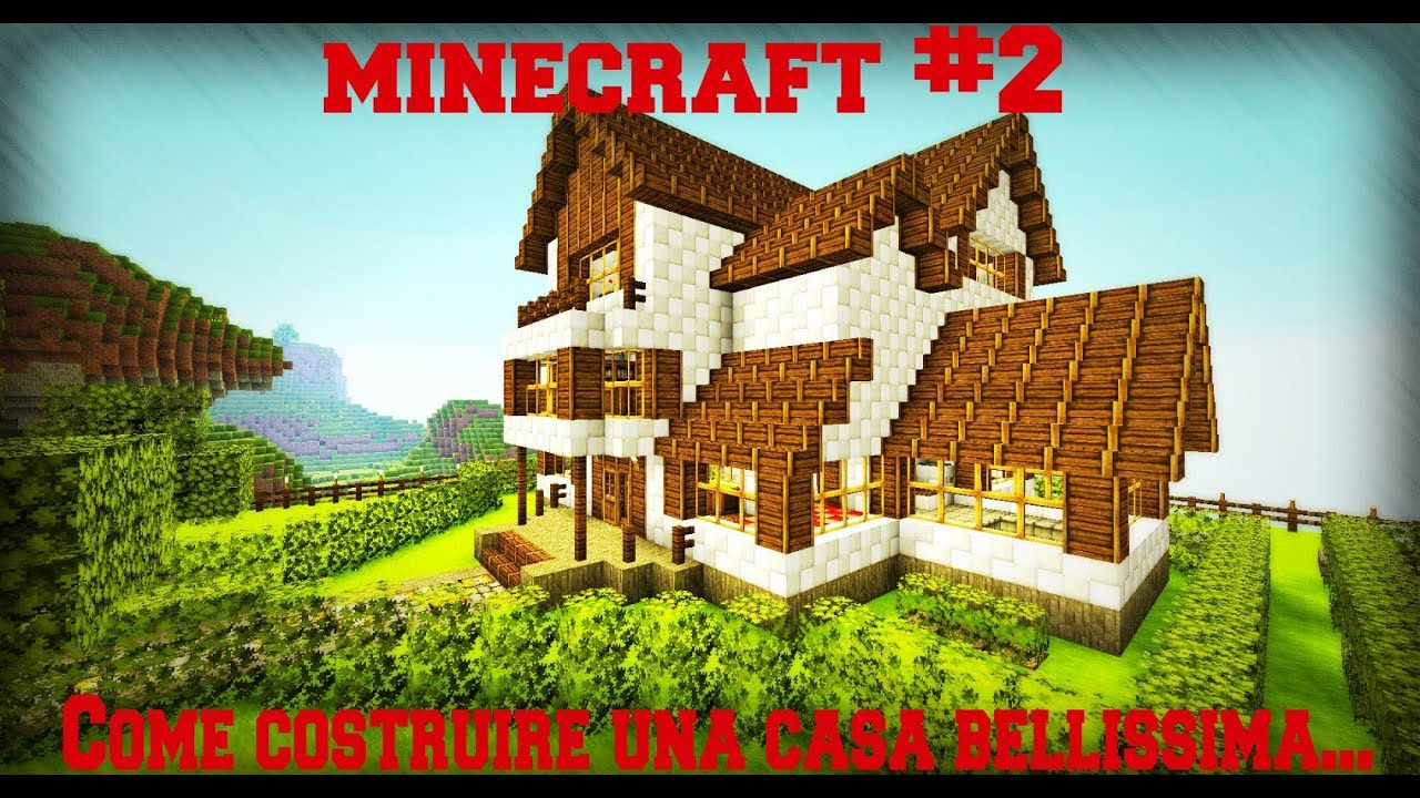 Minecraft 2 come costruire una casa bellissima studio for Costruire una casa sulla spiaggia su palafitte