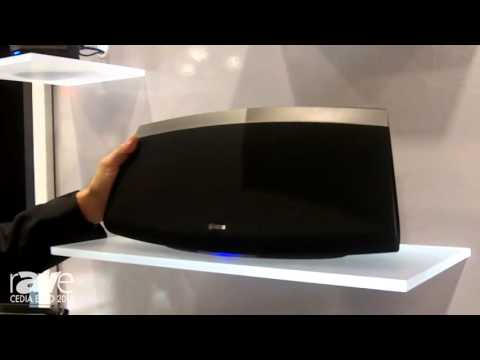 CEDIA 2015: Denon Features Its Large HEOS 7 Speaker, Part of the HEOS Wireless Audio System