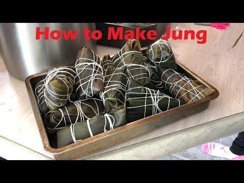 Tutorial: How to Make Jung Zongzi 粽子 Chinese Tamales