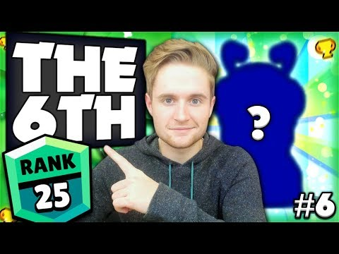 THE 6TH! - The Road To GREEN Iron Man Challenge #6 - Brawl Stars