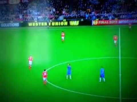 Gol de Fernando Torres al Benfica Europa League Final 2013