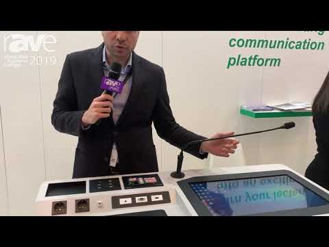 ISE 2019: Temas Technology Features EP22A Digital Podium / Lectern
