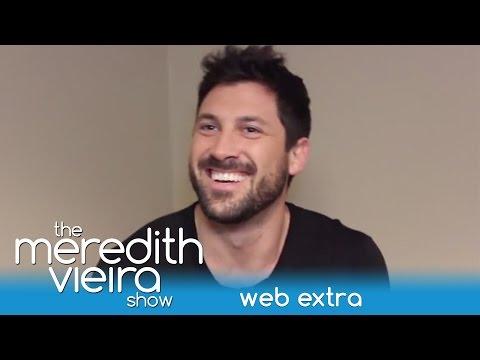 Maksim Chmerkovskiy Reveals His Favorite Partner is Meryl - Web Extra | The Meredith Vieira Show