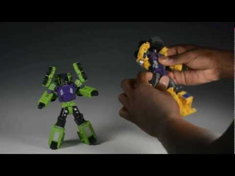 MakeToys Giant Vs. TFC Hercules: Round 2 - Robot Modes