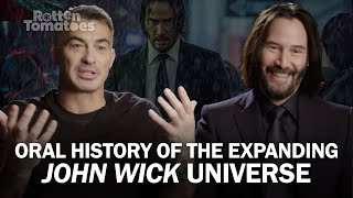 Oral History Of 'John Wick': Chapter 2 & 3 With Keanu Reeves And Chad Stahelski | Rotten Tomatoes