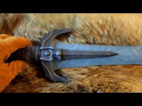 Skyrim Stalhrim Dagger Replica