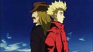 Random clips of Vash from Trigun