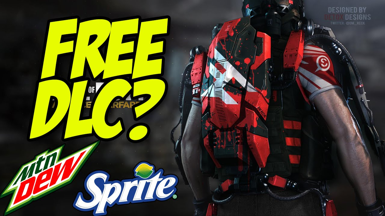 Advanced warfare gets free dlc from advertisers mountain dew and