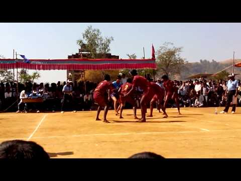 All India Inter University Kabaddi (men) Tournament 2013 -14 video