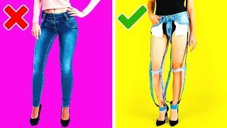 24 THRIFTY CLOTHING HACKS YOU MUST KNOW