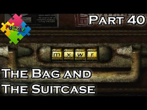 Silent Hill 2 Walkthrough (Part 40) -  PUZZLE - The Bag and The Suitcase (HD 720p)