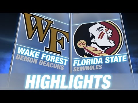 Wake Forest vs Florida State | 2014 ACC Football Highlights