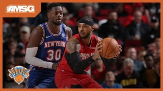 Knicks Get Reintroduced To Melo in the NBA | New York Knicks
