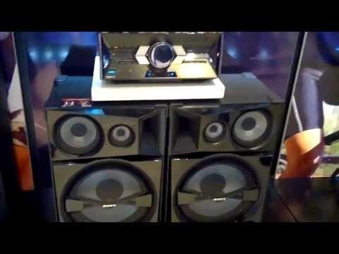 Sony Shake 7 En paraguay . Prueba de sonido